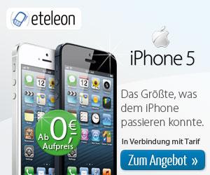 Apple iPhone 5 Angebote bei eteleon