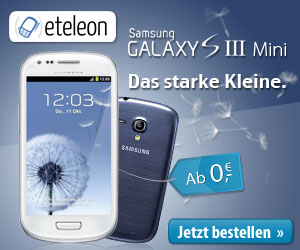Samsung I8190 Galaxy S III Mini ohne Aufpreis!