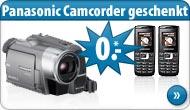 Handyvertrag mit Camcorder
