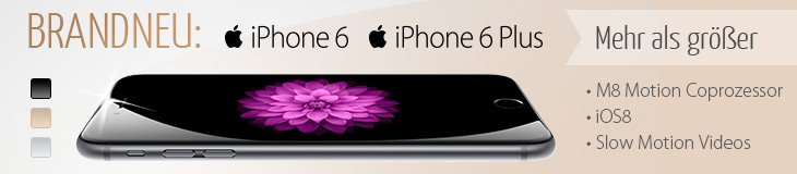 Brandneu: iPhone 6 & 6 Plus vorbestellen!