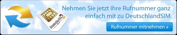 So funktioniert die Rufnummernmitnahme bei DeutschlandSIM